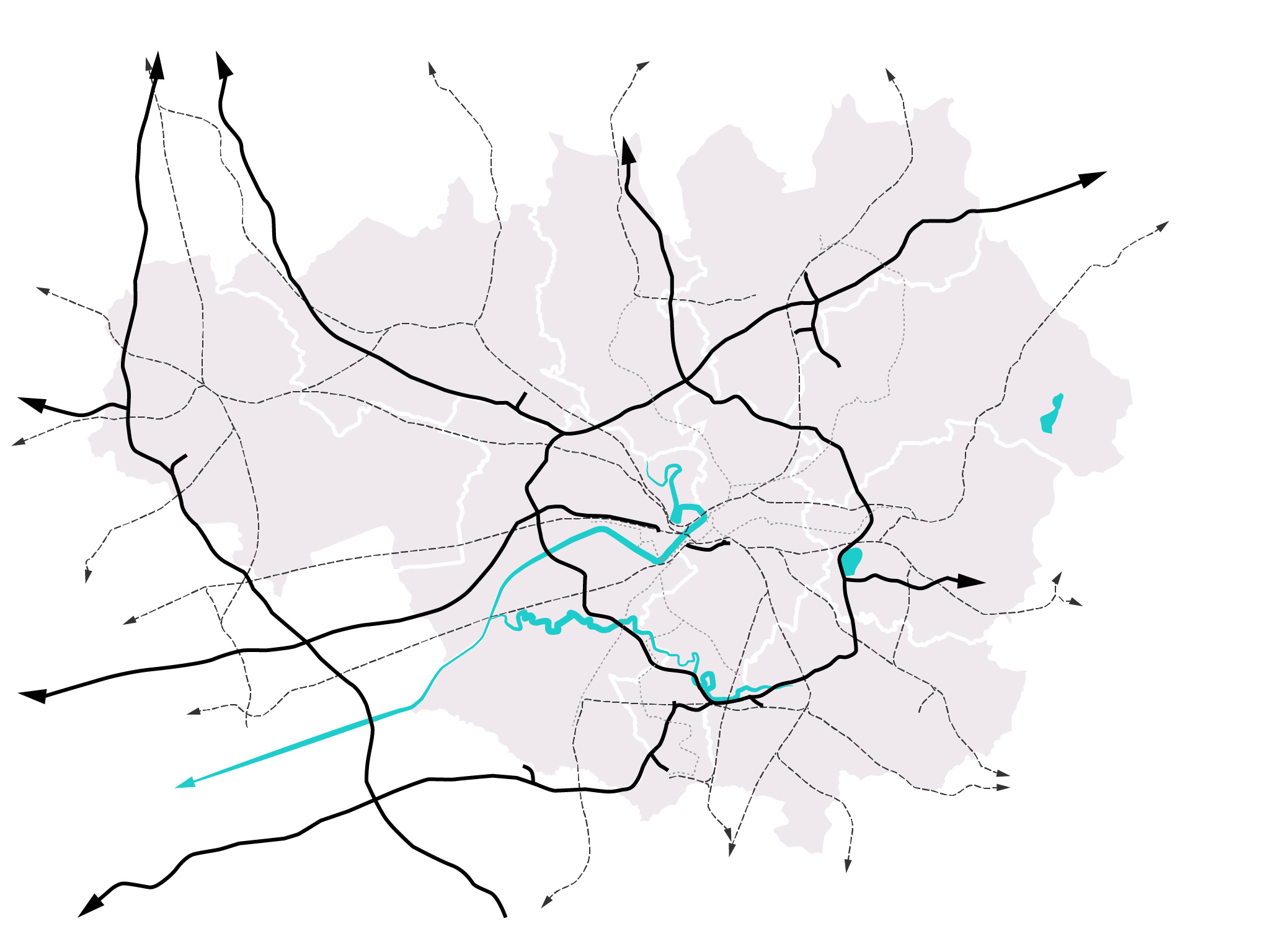 Map of the Manchester that area we operate in